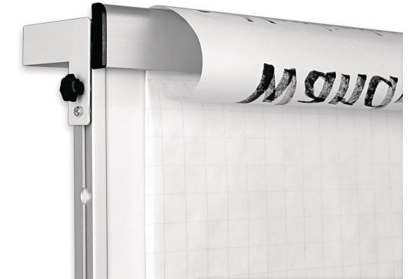 MAGNETOP. Wandflipchart Wand/Schiene 1246010 komp. montierbar 750x1000mm