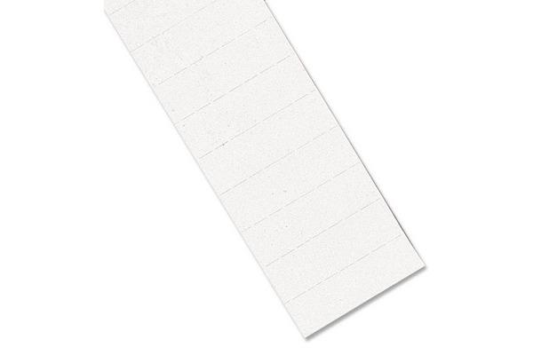 MAGNETOPLAN Ferrocard Etiketten 60x15mm 1286300 weiss 115...