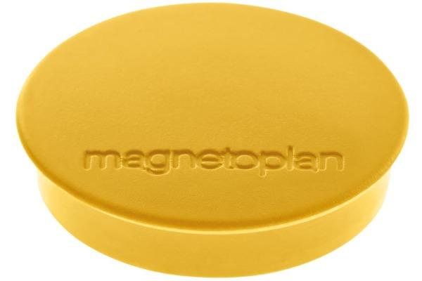 MAGNETOPLAN Magnet Discofix Standard 30mm 1664202 gelb 10...