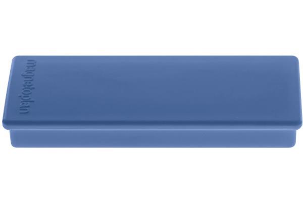 MAGNETOPLAN Rechteck-Magnethalter 1665114 dunkelblau 10 Stk.
