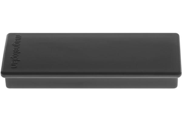MAGNETOPLAN Rechteck-Magnethalter 16651412 schwarz 4...