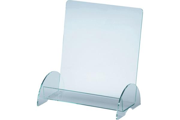 MAGNETOP. Prospekthalter Premium 43120 transparent 230x280x100mm
