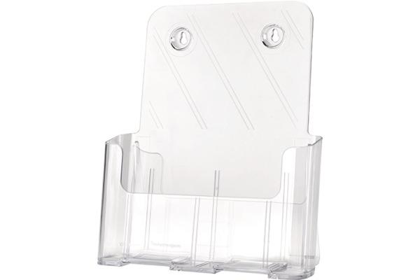 MAGNETOP. Prospekthalter Standard 43152 transparent 230x245x55mm