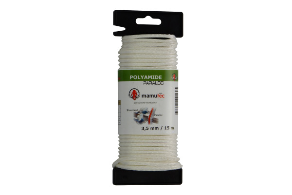 NEUTRAL Polyamid-Kordel 3,5mmx15m 305000350 Nylon, weiss