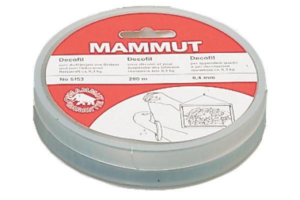MAMMUT Nylonfaden Arova 9200025 20mx0,35mm
