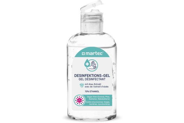 MARTEC Desinfektionsmittel 80ml 33031 Handgel, mit Aloe-Vera
