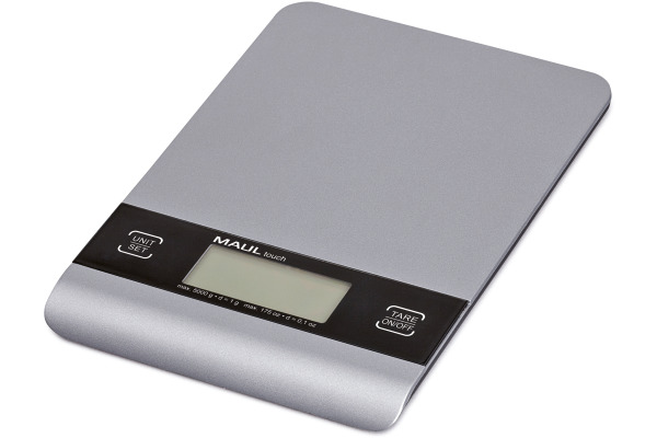 MAUL Briefwaage MAULtouch 1635095 mit Batterie, 5000g