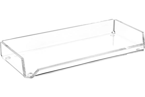 MAUL Stifteschale Acryl 19560 05 220x30x100mm, glasklar