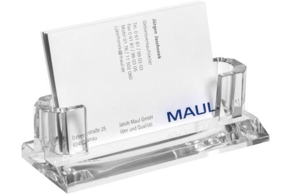 MAUL Visitenkarten-Halter Acryl 19594 05 glasklar