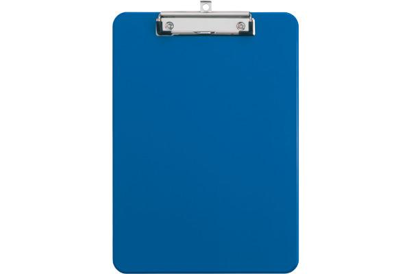 MAUL Schreibplatte Kunststoff A4 2340537 mit Bügelklemme, blau
