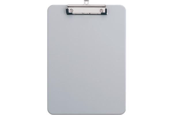 MAUL Schreibplatte Kunststoff A4 2340582 mit Bügelklemme, grau
