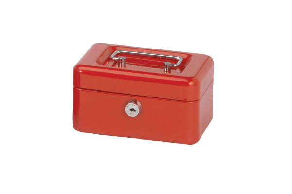 MAUL Geldkassette 1 15,2x12,5x8,1cm 5610125 rot