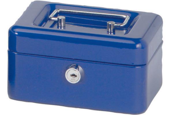 MAUL Geldkassette 1 15,2x12,5x8,1cm 5610137 blau