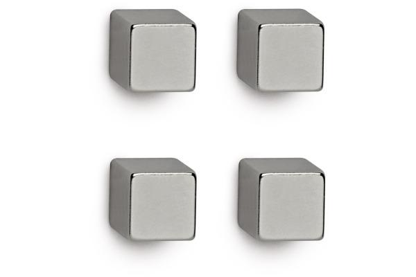 MAUL Neodym-Würfelmagnet 10x10x10mm 6169296 Set,...