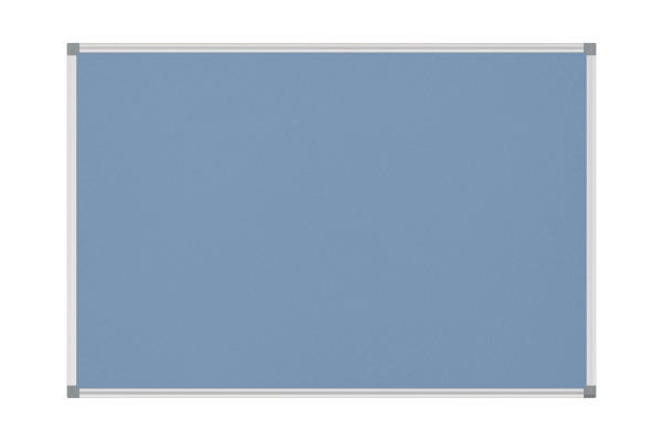 MAUL Pinnboard MAULstandard 6445034 90x180cm Textil,hellblau