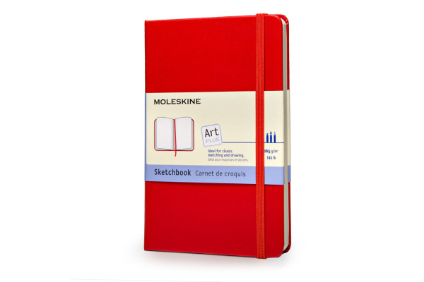 MOLESKINE Skizzenbuch A5 034-5 blanko rot