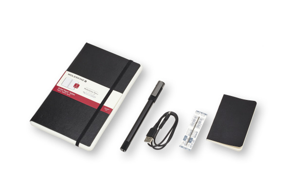 MOLESKINE Smart Writing Set Ellipse 602428 Tablet,Pen,Patrone,USB Kabel