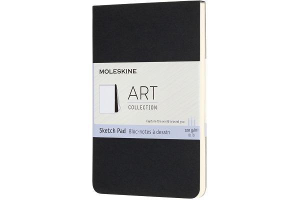 MOLESKINE Skizzenblock SC P/A6 626819 schwarz, 48 Seiten