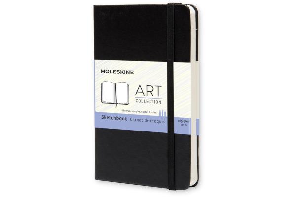 MOLESKINE Skizzenbuch A6 701054 blanko schwarz
