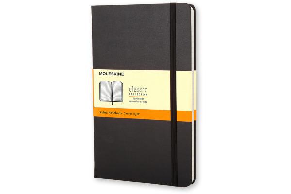 MOLESKINE Notizbuch Classic A5 701122 liniert schwarz