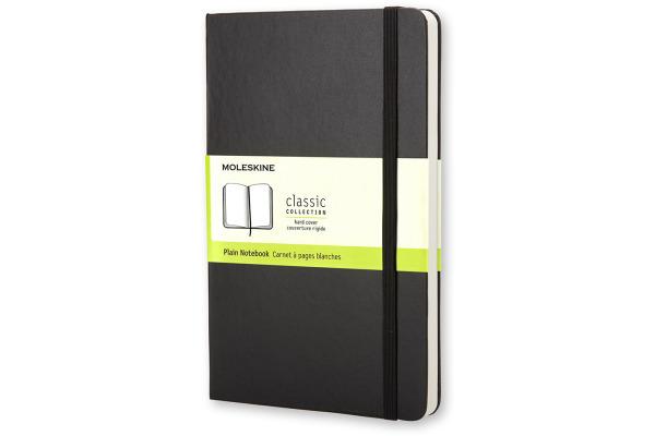 MOLESKINE Notizbuch Classic A5 701146 blanko schwarz