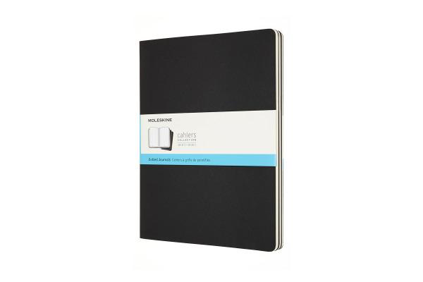 MOLESKINE Notizheft 3x 27.9x21.6cm 719237 gepunktet, schwarz, 120 S.