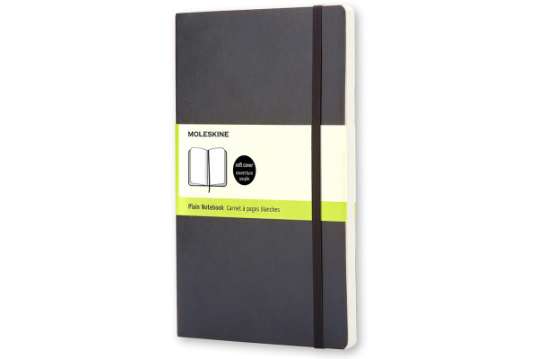 MOLESKINE Notizbuch Soft A5 720-9 blanko schwarz