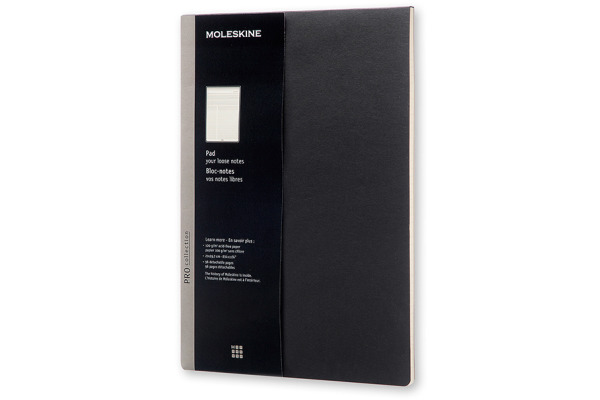 MOLESKINE Block A4 891560 schwarz
