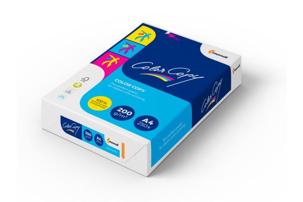 MONDI Color Copy Paper A4 88008638 200g, weiss 250 Blatt