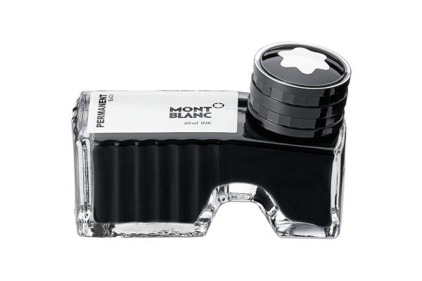 MONTBLANC Tinte 60ml 128196 schwarz, permit