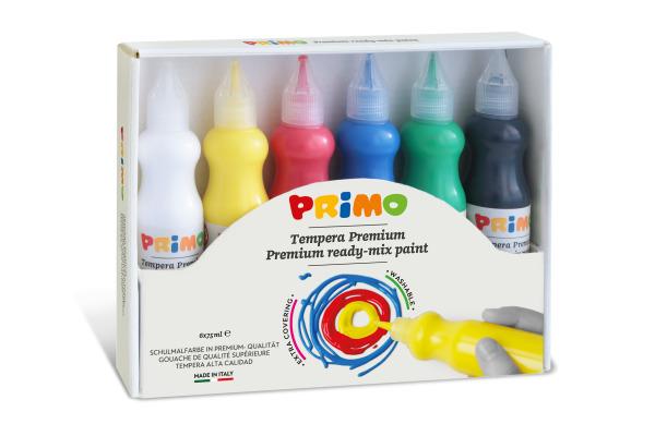 MOROCOLOR Temperafarben Primo 75ml 004251 Premium, ass. 6 Stück