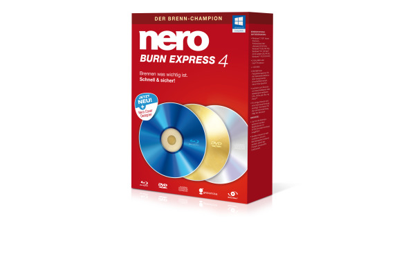NERO Nero Burn Express 4 11450000 Deutsch