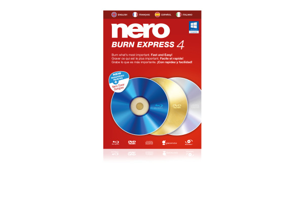 NERO Nero Burn Express 4 11450000 Französisch/Italienisch