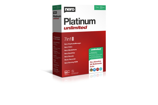 NERO Nero Platinum Unlimited EMEA12200 Deutsch