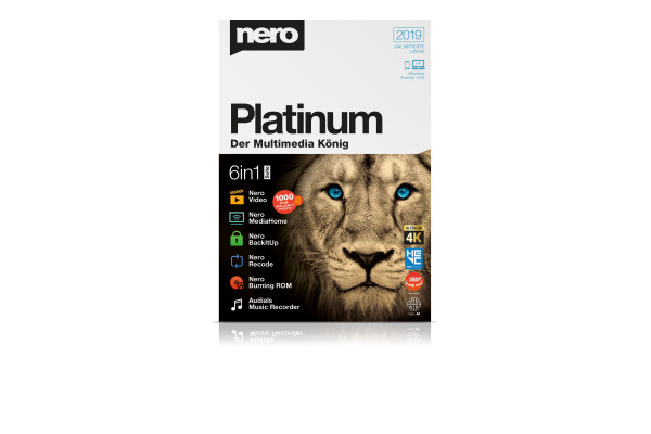 NERO Nero Platinum 2019 12290000 Deutsch