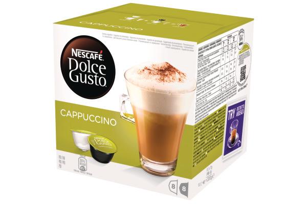 NESCAFE Dolce Gusto Cappuccino 151430 8+8 Stück