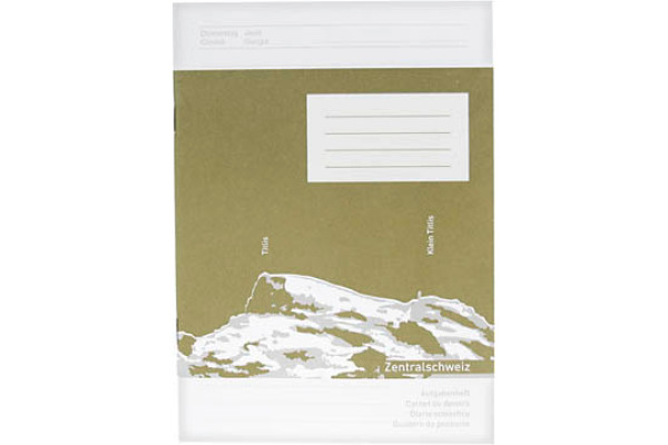 NEUTRAL Aufgabenheft B6 02.1624.1 recycling 24 Blatt