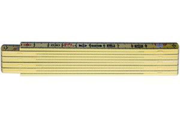 NEUTRAL Taschenmeter 1m 1601G gelb