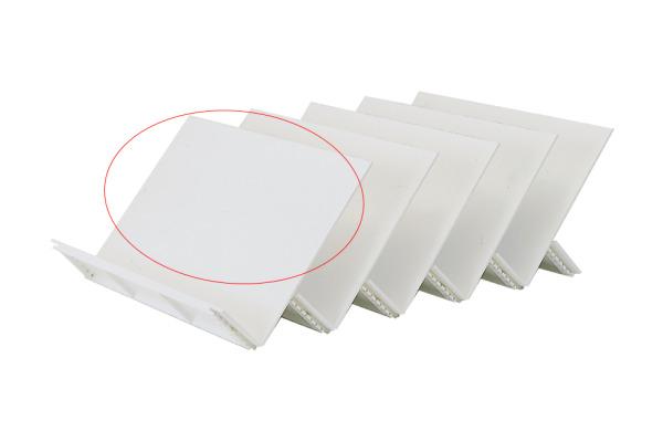 NEUTRAL Schrägplatte A4 32W3-390 30x21,5cm weiss