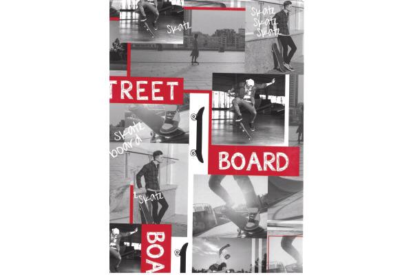 NEUTRAL Einfasspapier 430801 Street Board 3mx50cm