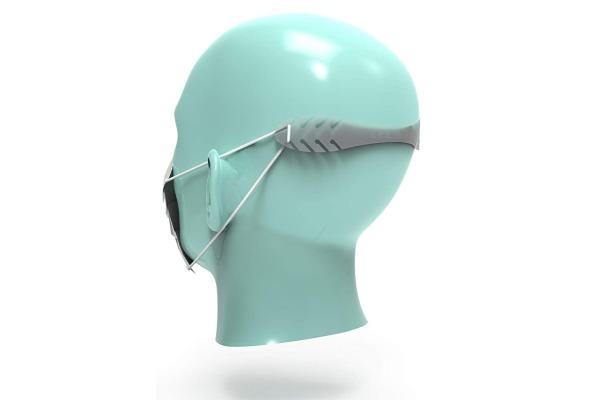 NEUTRAL Maskenhalter 479800130 transparent, PE 3 Stück