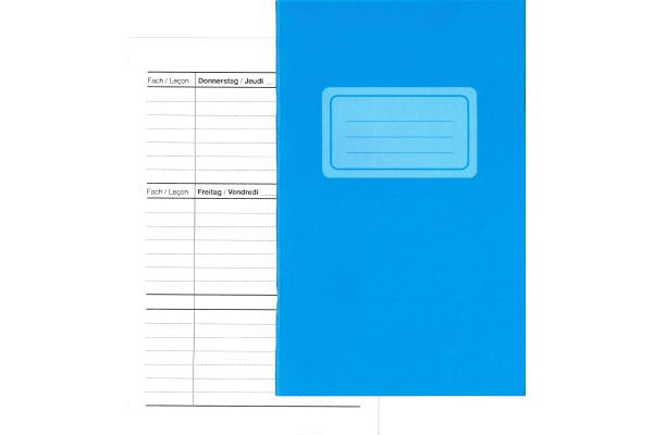 NEUTRAL Aufgabenheft 11x17,5cm 611065 70g 24 Blatt