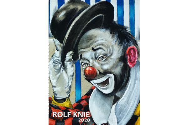 KNIE Rolf Knie Agenda A2021 D/F, 17x23,5cm, 2021