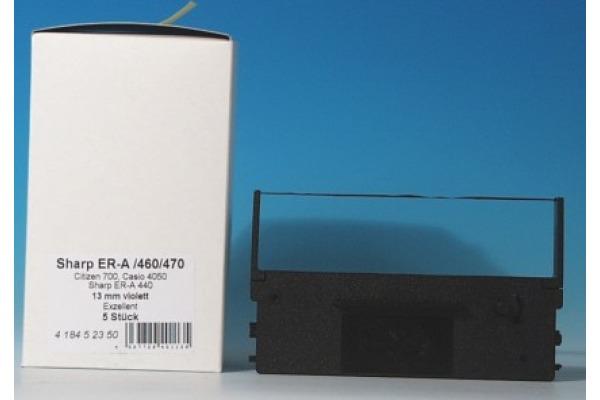 NEUTRAL Farbband Nylon violett CIZ3316 zu Citizen DP 700 12.7mmx10m