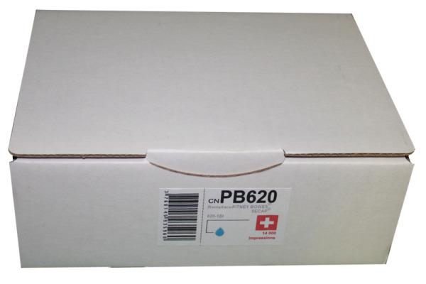 NEUTRAL Tintenpatrone blau DE6181B Pitney Bowes DM400/500 66ml