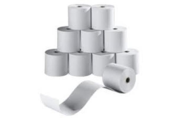 NEUTRAL Papierrolle 60g 57mmx40m KR5740m f. Tischrechner 10 Stück