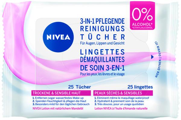 NIVEA Visage Reinigungstücher 6743 25 Stück