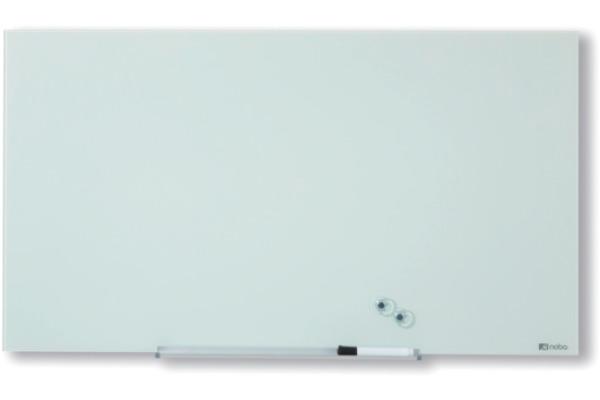 NOBO Glassboard 1905175 Diamond S Wht 677X381mm
