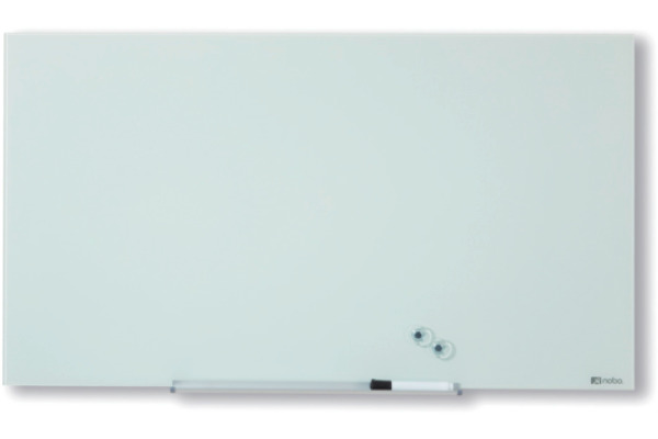 NOBO Glassboard 1905176 Diamond S Wht 993X559mm