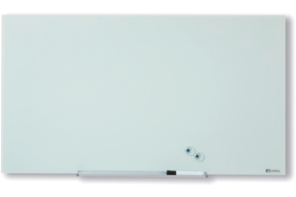 NOBO Glassboard 1905177 Diamond Wht 1260X711mm